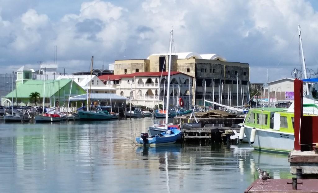 Bezaubernder Hafen von Belize, AIDA Karibik - Belize - Ausflug