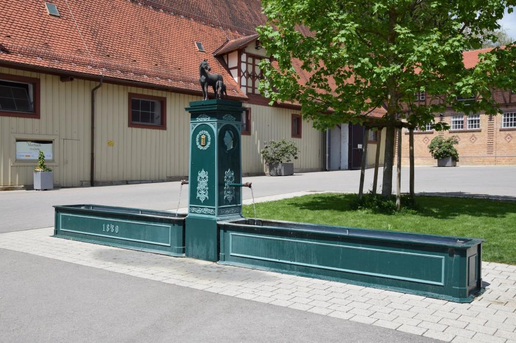 Gestütsbrunnen, Haupt- und Landgestüt Marbach