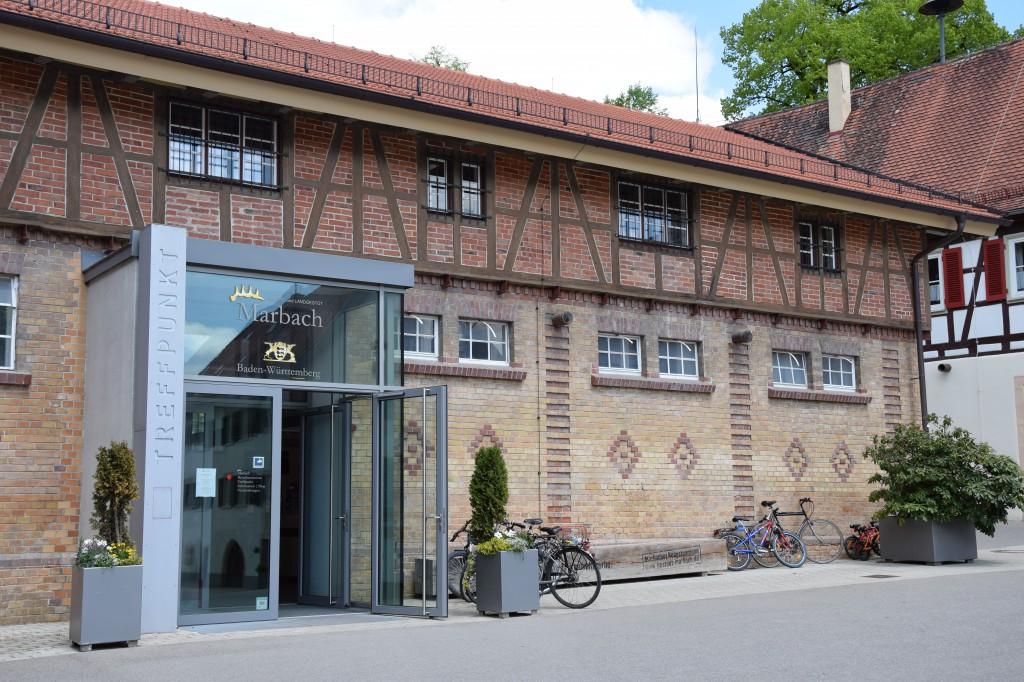 Empfangsgebäude Gestüt Marbach, Haupt- und Landgestüt Marbach