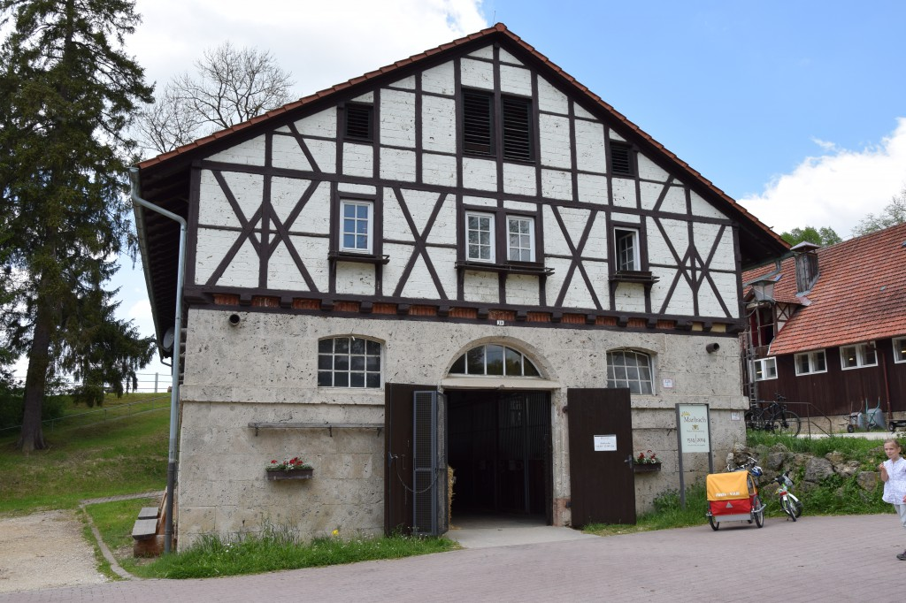 Stallung, Haupt- und Landgestüt Marbach