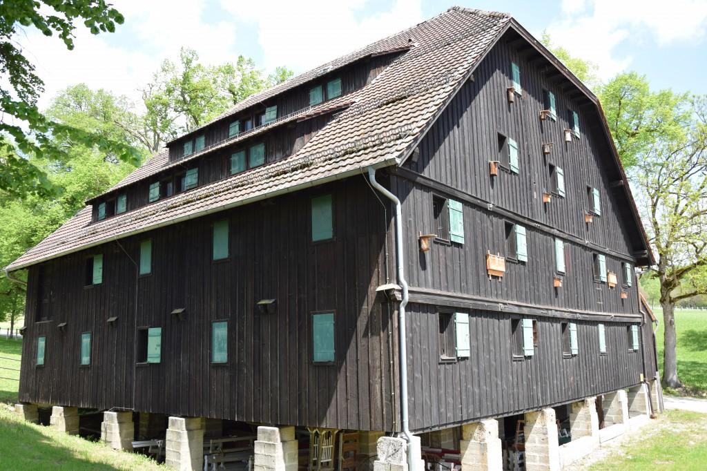 Futterscheuer Gestüt Marbach, Haupt- und Landgestüt Marbach
