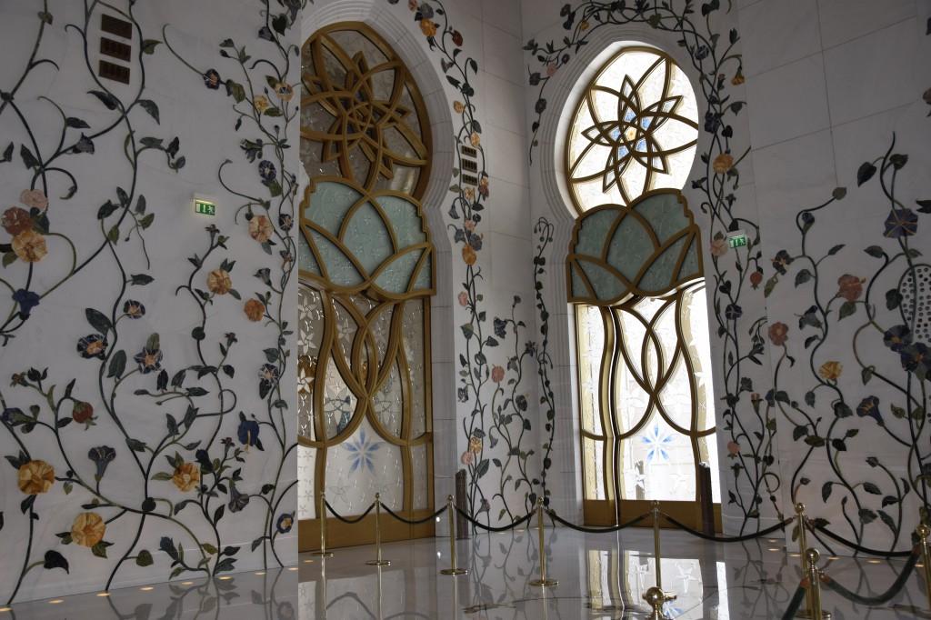 Innenraum Sheikh-Zayed Moschee Abu Dhabi, Sheikh-Zayed Moschee