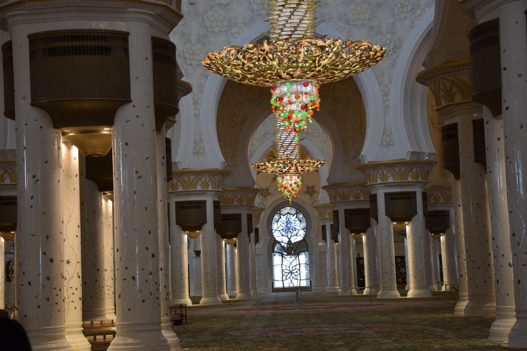 Gebetsraum innen, Sheikh-Zayed Moschee