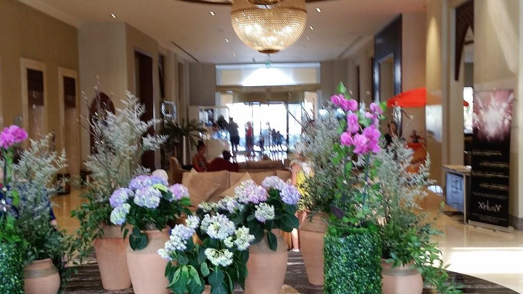 Empfang Double Tree Marjan, DoubleTree Hotel by Hilton Resort & Spa Marjan Island