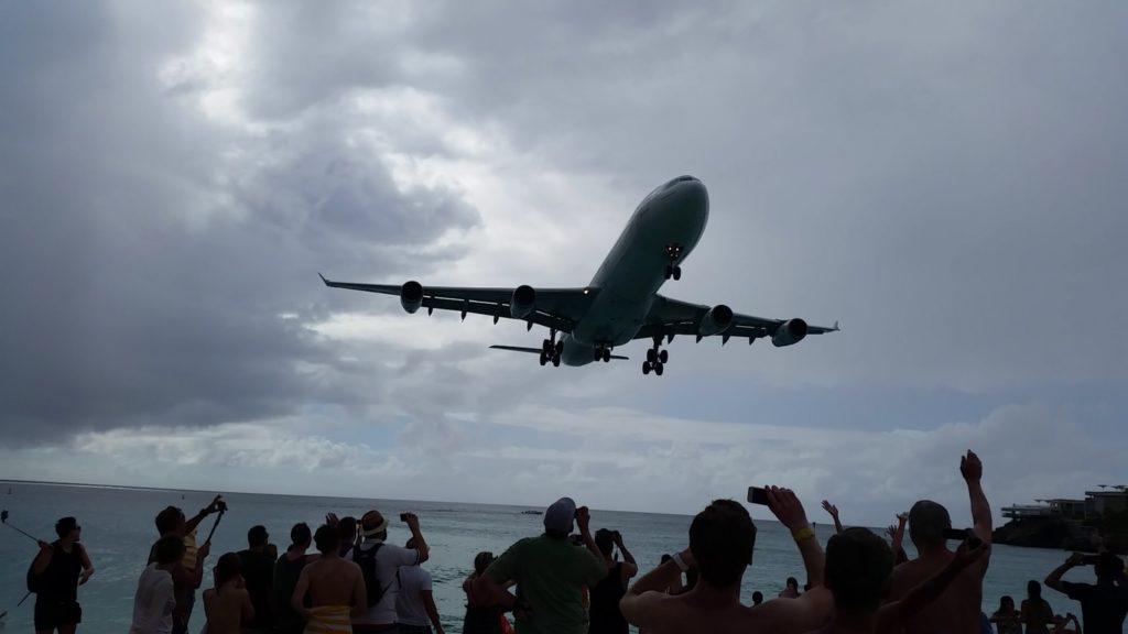 AIDA Karibik – St. Maarten – Ausflug Flugzeugstrand Maho Beach