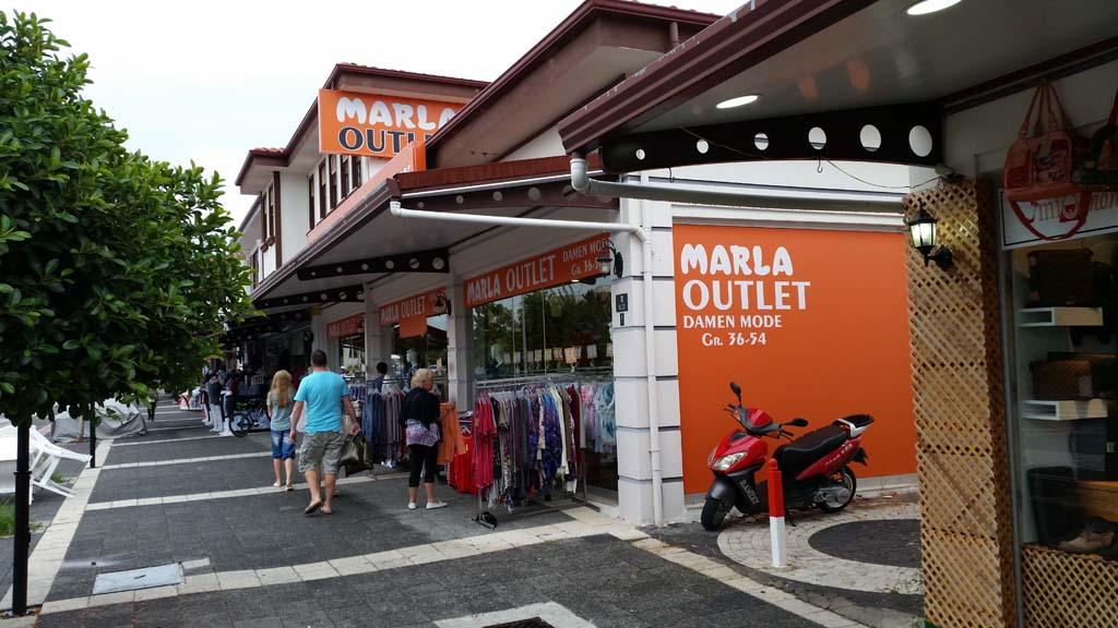 Marla Outlet, Kumköy