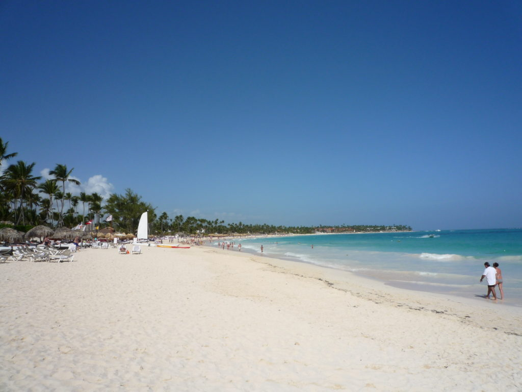 Strand vom Bávaro Princess All Suites Resort in Punta Cana
