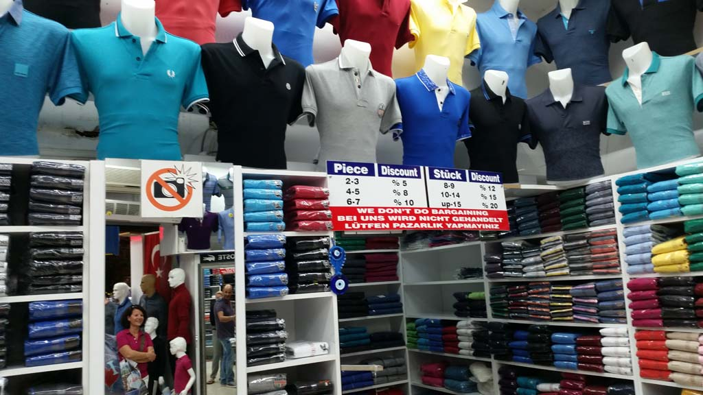 Einkaufen in Kumköy