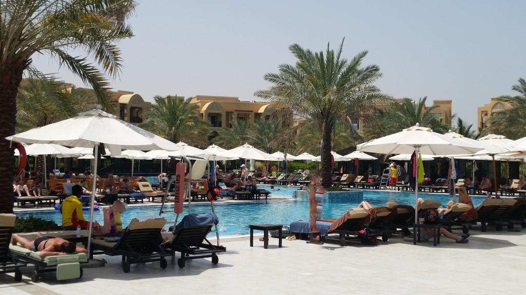 Pool, Double Tree by Hilton Resort & Spa Marjan Island, Dubai Urlaub