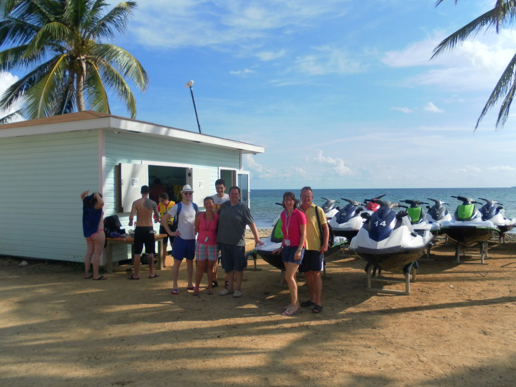 AIDA Karibik - Cayman Islands - Ausflug, Treffpunkt Jetskiverleih