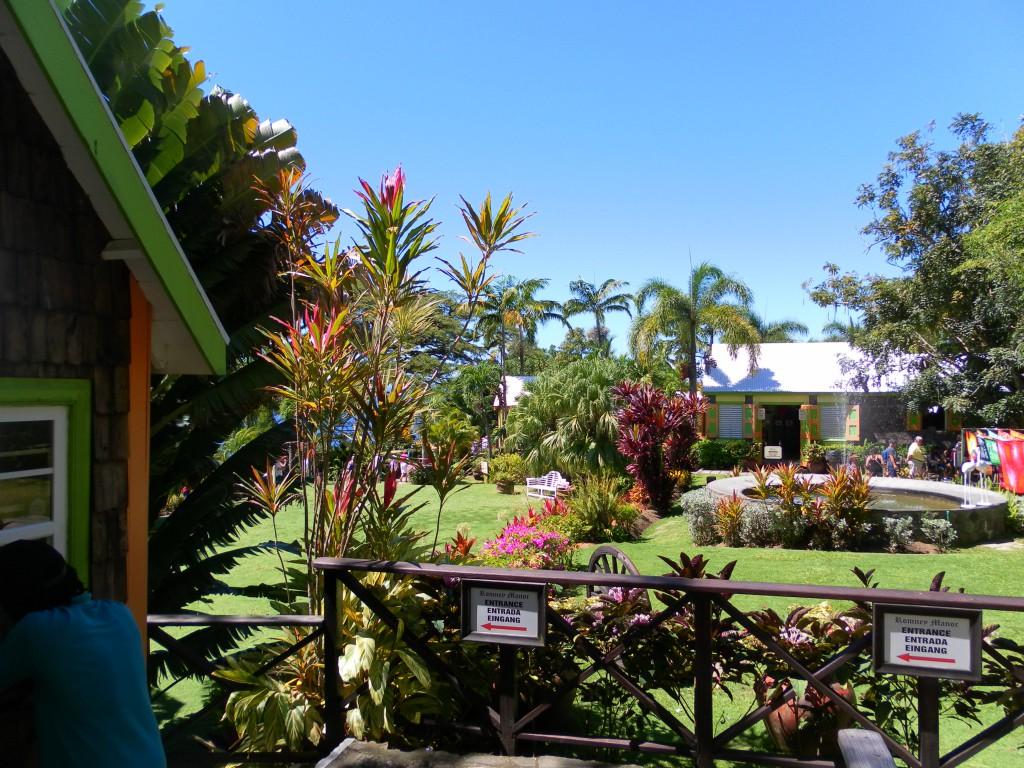 Romney Manor, AIDA Karibik - Basseterre - Ausflug