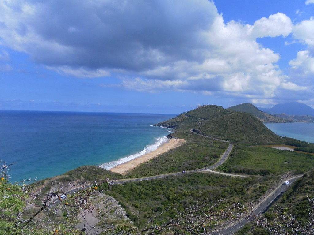 "Aussichtspunkt ,,Timothy Hill"", AIDA Karibik - Basseterre - Ausflug"