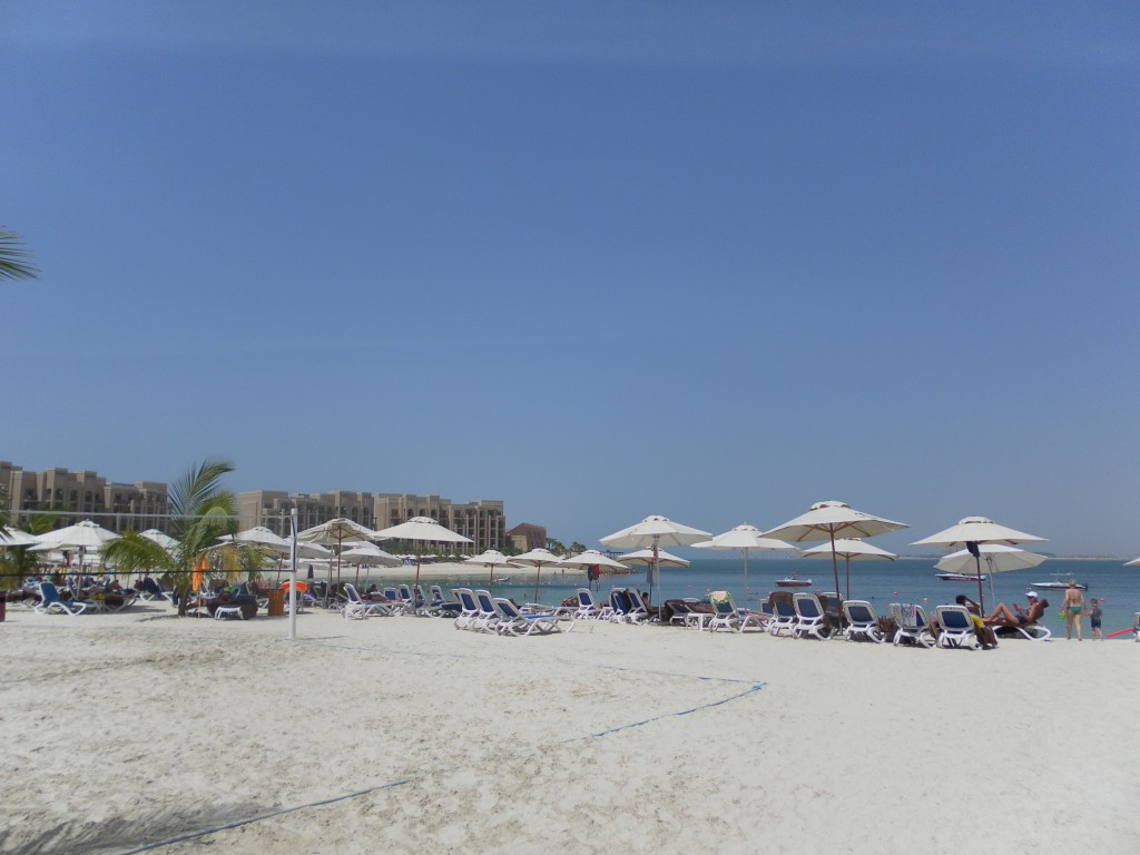 Privatstrand, DoubleTree Hotel by Hilton Resort & Spa Marjan Island