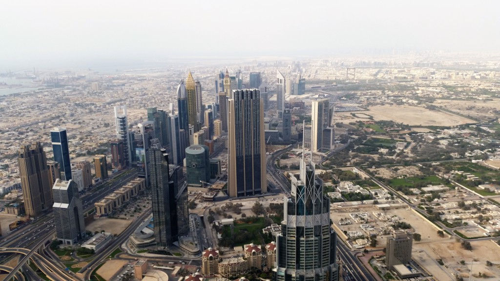 Skyline Dubai, Dubai Sehenswürdigkeiten