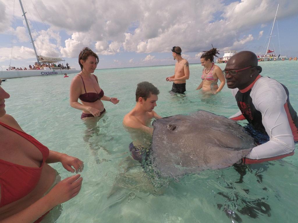 AIDA Karibik – Cayman Islands – Ausflug zur Stingray City mit Jetskis